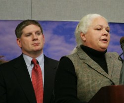 Reps. Kurt Zellers and Mary Liz Holberg
