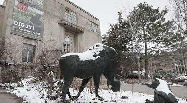 The House bonding bill includes $51.5 million for a new James Ford Bell natural history museum and planetarium on the St. Paul campus, which would replace the existing museum at 10 Church St. SE on the Minneapolis campus, above. (File photo: Bill Klotz)