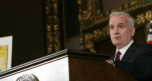 Gov. Mark Dayton wants a larger bonding proposal than the $850 million plan the House proposed on Tuesday.