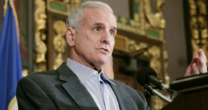 Gov. Mark Dayton has more than $750,000 to spend.