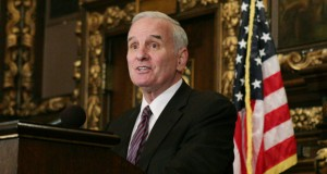 Gov. Mark Dayton offered to spend $100 million more for a supplemental budget than his original proposal as a compromise with House and Senate leaders. (Staff photo)