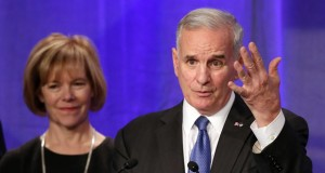 Mark Dayton, Tina Smith