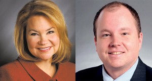 Sen. Julianne Ortman and Sen. Branden Petersen and two Republicans giving up their seats. (Submitted images)