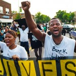 Black Lives Matter activists march to Dayton's home