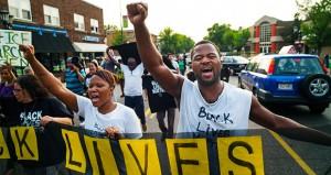 Black Lives Matter activists march to Dayton's home