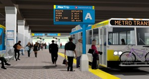 A rendering shows what the Mall of America Transit Station would look like after upgrades, which are projected to be completed by the end of 2017. Submitted rendering: Metro Transit