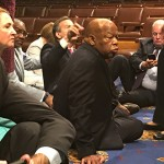 Rebellious Democrats disrupt House, stage protest