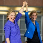 Clinton-Warren comity may yield to tension