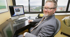Brian Halloran has represented clients for Redmond Associates since 1996. (Staff photo: Bill Klotz)