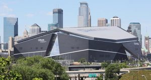 The Minnesota Sports Facilities Authority on Friday authorized a contract revision with Dallas-based HKS, U.S. Bank Stadium's designer, to design options for additional storage space. (File photo: Bill Klotz)
