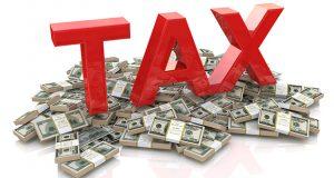 Tax on dollar currency