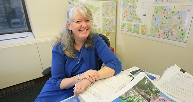 Barb Huberty is director of the Minnesota Legislative Water Commission, which she joined in January 2015. (Staff photo: Bill Klotz)